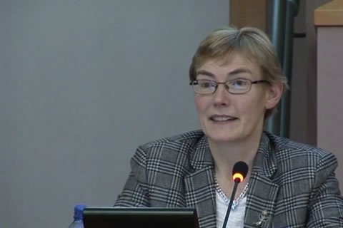 Presentation Dr. Odilla Finlayson - project coordinator, final SAILS conference European Parliament