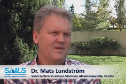 Interview Dr. Mats Lundström - challenge of implementing a new assessment strategy in IBSE