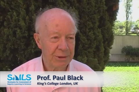 Interview Prof. Paul Black - challenge of implementing a new assessment strategy in IBSE